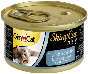 Gimpet Shiny Cat Thunfisch mit Garnelen 70g