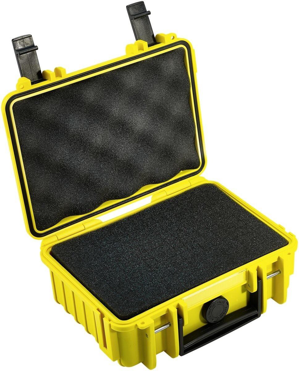 B&W Outdoor Case Typ 500 incl. SI gelb