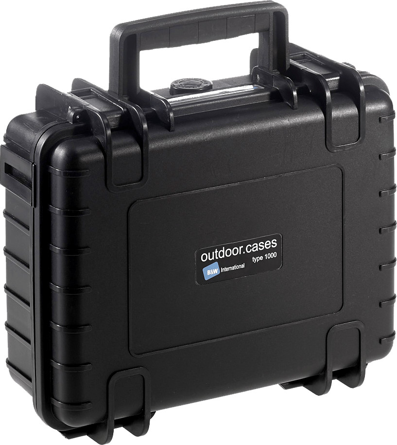 Image of B&W Outdoor Case Type 1000 incl. SI black