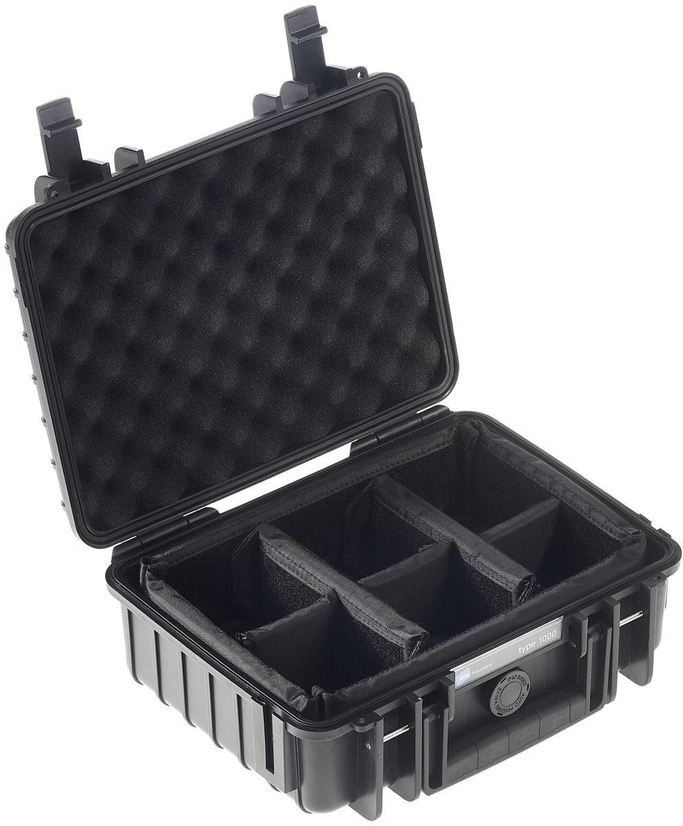 #B&W Outdoor Case Typ 1000 incl. RPD schwarz#