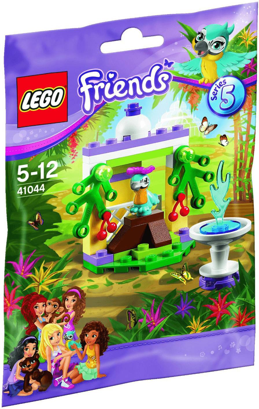 LEGO Friends - Le perroquet et sa fontaine (41044)