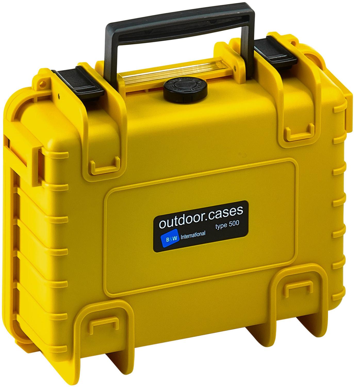 B&W Outdoor Case Typ 500 leer gelb