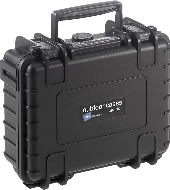 Image of B&W Outdoor Case Typ 500 Empty Black
