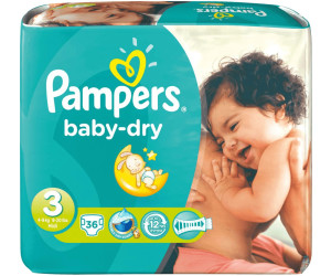 preisvergleich pampers baby dry 3