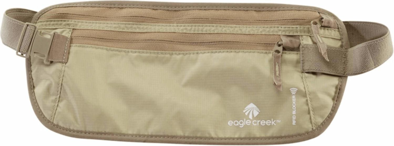 Eagle Creek Security RFID Blocker Money Belt DLX tan (EC041176)