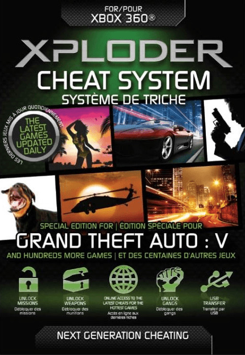 Xploder Xbox 360 Cheat System Grand Theft Auto ...