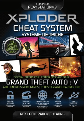 Xploder PS3 Cheat System Grand Theft Auto 5 (GT...
