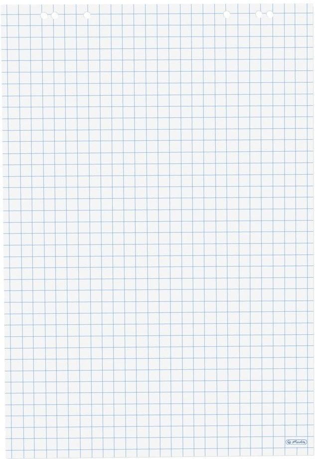 NEU+ Flipchartpapier Flip Chart Block 80 g//m² kariert 5 Stück = 1 Paket