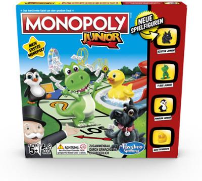 Hasbro Monopoly Junior Neuauflage 2014 (A6984100)