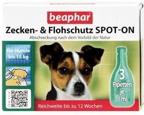Beaphar Zecken- & Flohschutz Spot-On für kleine...