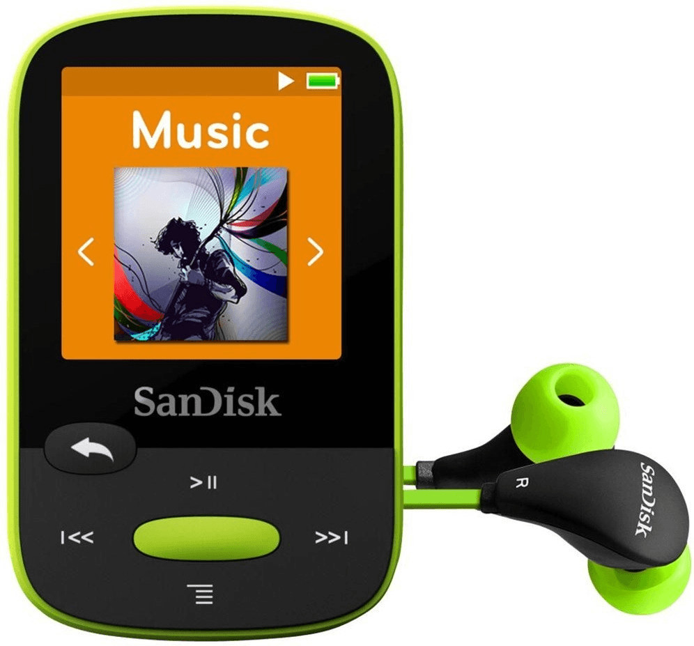 SanDisk Clip Sport 8 GB lima