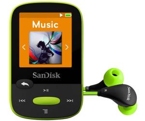 Sandisk Clip Sport 8GB Lime