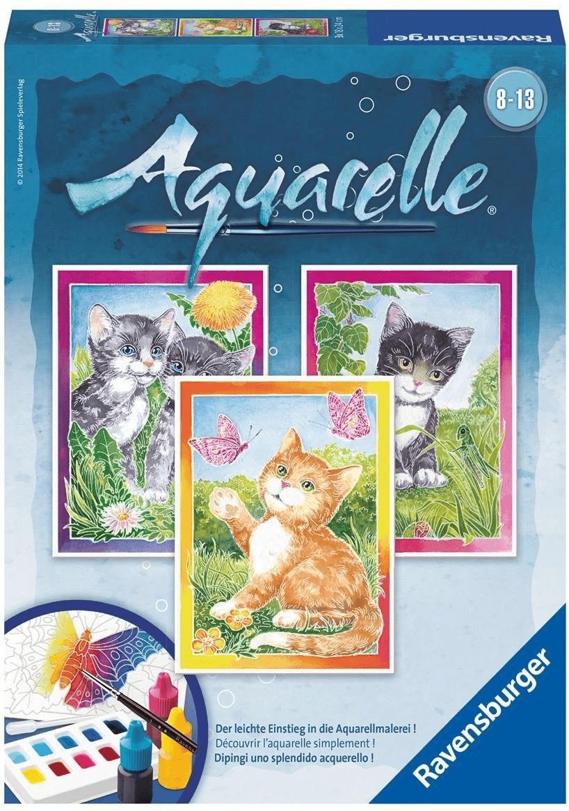 Ravensburger Aquarelle Katzen (29324)