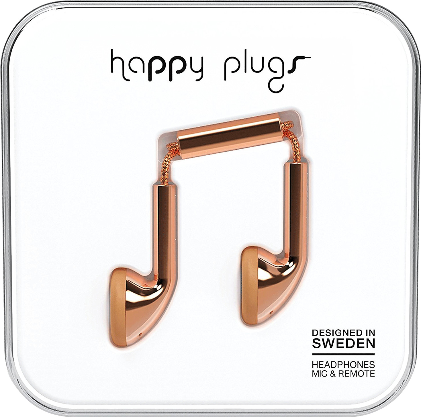Image of Happy Plugs Earbud (Gold)