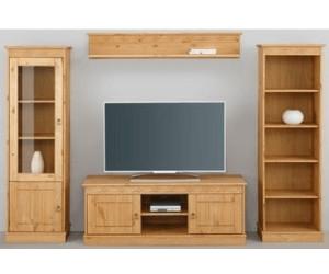 home affaire wohnwand indra 4 tlg ab 269 99 preisvergleich bei. Black Bedroom Furniture Sets. Home Design Ideas