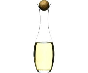 Sagaform Oval Oak Wein-/Wasserkaraffe 1L