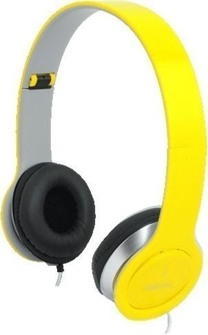 LogiLink Smile Headset (gelb)