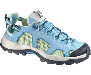 Salomon Techamphibian 3, Damen Walkingschuhe, Beige (Sand/Light Hay Yellow/Igloo Blue), 38 EU (5 Damen UK)