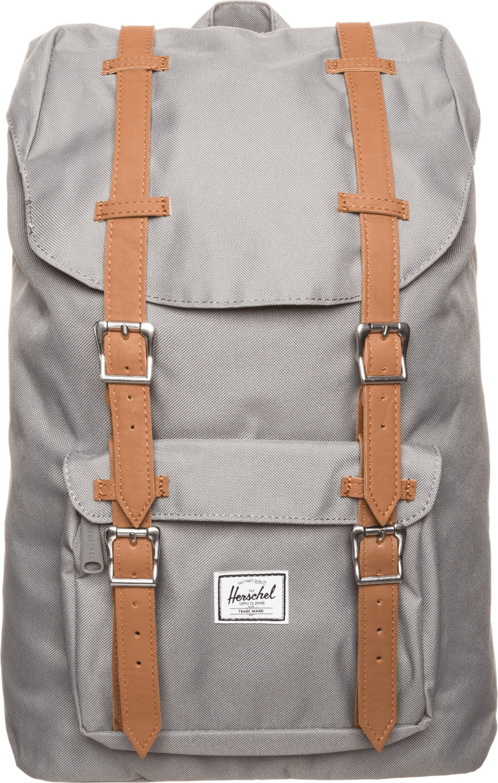 Herschel Little America Mid-Volume Backpack grey/tan pu