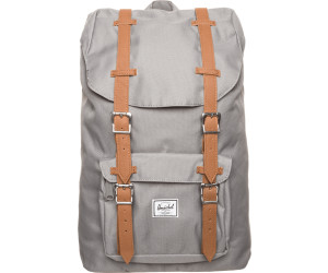 Herschel Little America Backpack Mid-Volume grey/tan pu