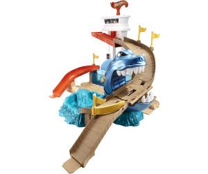 Spielzeugautos Mattel BGK04 HW Color Change Hai-attacke Spielset günstig kaufen