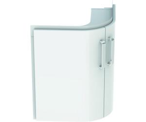 Eckwaschbecken mit unterschrank  Keramag Renova Nr. 1 Comprimo Eckwaschtisch-Unterschrank Weiß ...