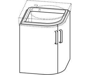 Keramag Renova Nr. 1 Comprimo Eckwaschtisch mit Unterschrank ab ...   {Eckwaschbecken mit unterschrank 81}