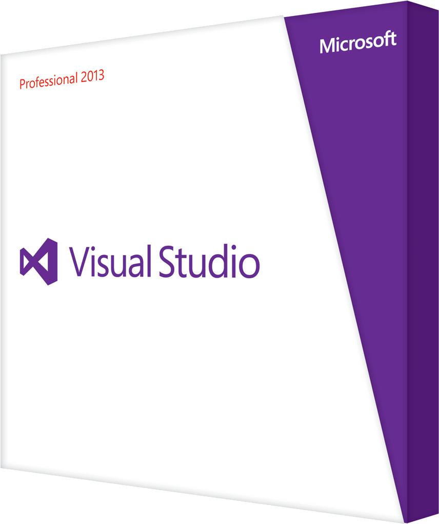 Microsoft Visual Studio 2013 Professional Upgra...