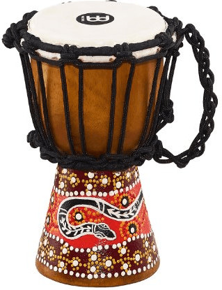 """Image of Meinl African Style Mini Python Djembe 4 1/2"""""""