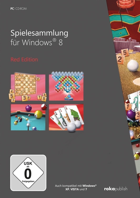 Spielesammlung für Windows 8: Red Edition (PC)
