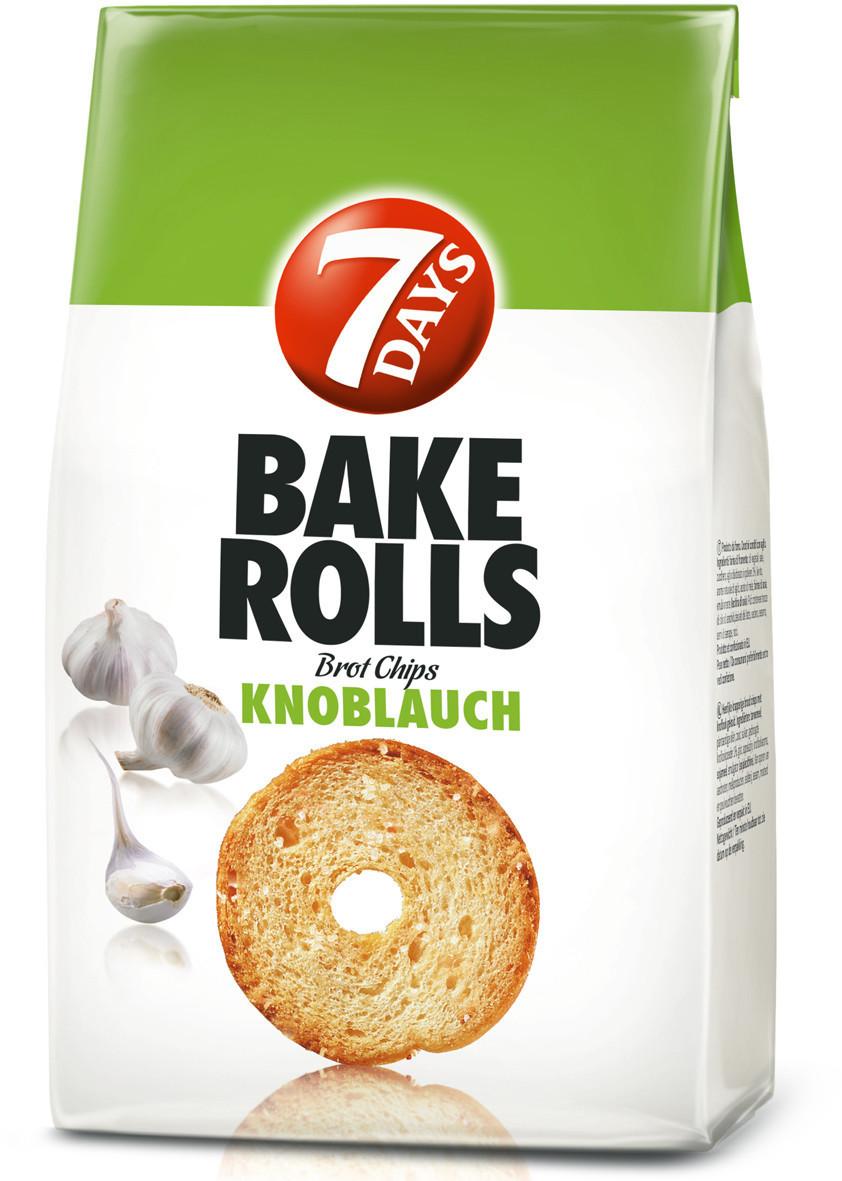7Days Bake Rolls Knoblauch (250 g)