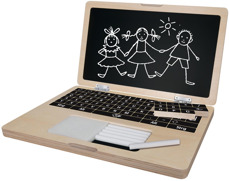 Eichhorn Laptop mit Puzzle