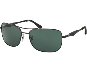 Ray-Ban Herren Sonnenbrille RB3515 Polarisiert, Gr. 61 mm, Matte gunmetal/Braun polarized