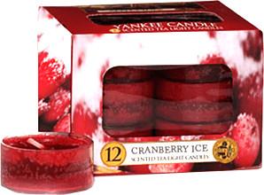Yankee Candle Tea Lights Cranberry Ice (x12)