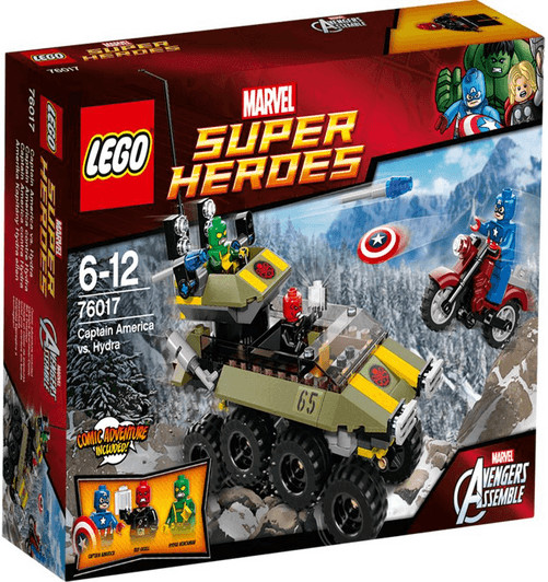 LEGO Marvel Super Heroes - Captain America contre Hydra (76017)