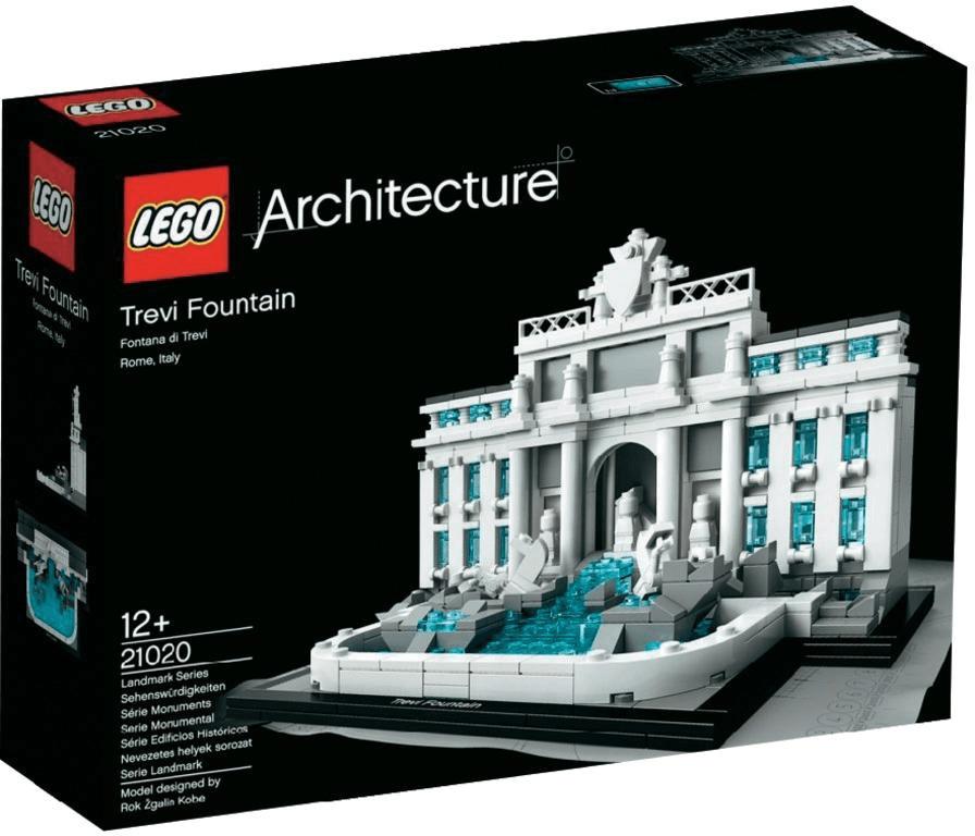 LEGO Architecture - La fontaine de Trevi (21020)