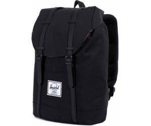 f355c541d511 Buy Herschel Retreat Backpack black rubber from £73.99 – Best Deals ...