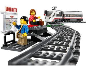 lego city le train de passagers grande vitesse 60051 au meilleur prix sur. Black Bedroom Furniture Sets. Home Design Ideas