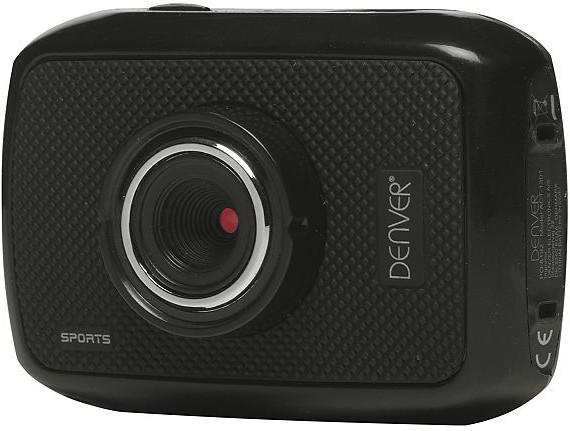 Cámara deportiva Denver HD de 720p con carcasa resistente al agua, con batería d
