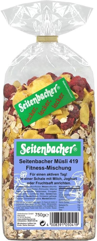 Seitenbacher Fitness-Mischung (750 g)