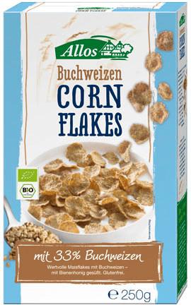 Allos Buchweizen Cornflakes (250 g)