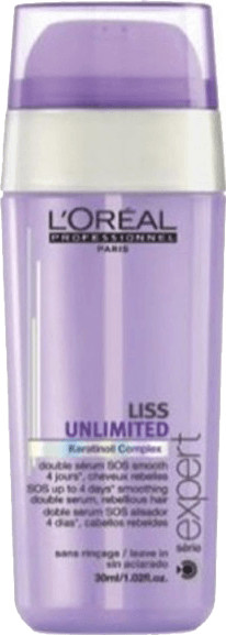 Image of L'Oréal Liss Unlimited Smoothing Double Serum (30 ml)