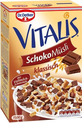 Dr. Oetker Vitalis Schoko Müsli klassisch (1500 g)