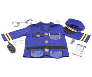 Buy Melissa Doug Police Officer Role Play Costume Set From