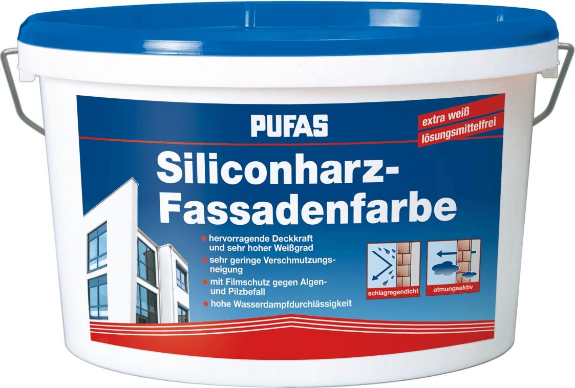 PUFAS Siliconharz-Fassadenfarbe 231, 5 l