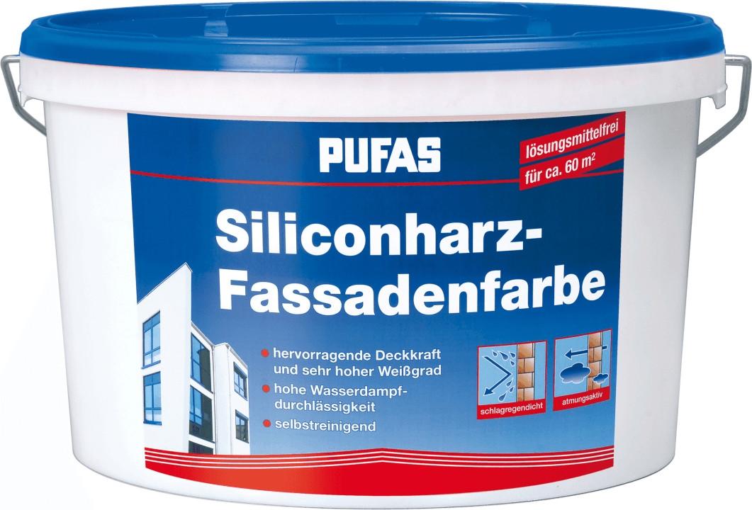 PUFAS Siliconharz-Fassadenfarbe 231, 10 l