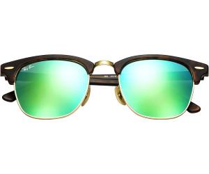 Ray Ban Clubmaster RB3016 114519 51 sand havana gold / grey mirror green DlmncbVlmI