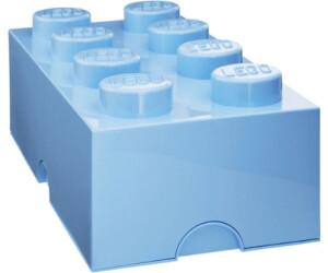 buy lego storage brick box 8 studs light blue from. Black Bedroom Furniture Sets. Home Design Ideas