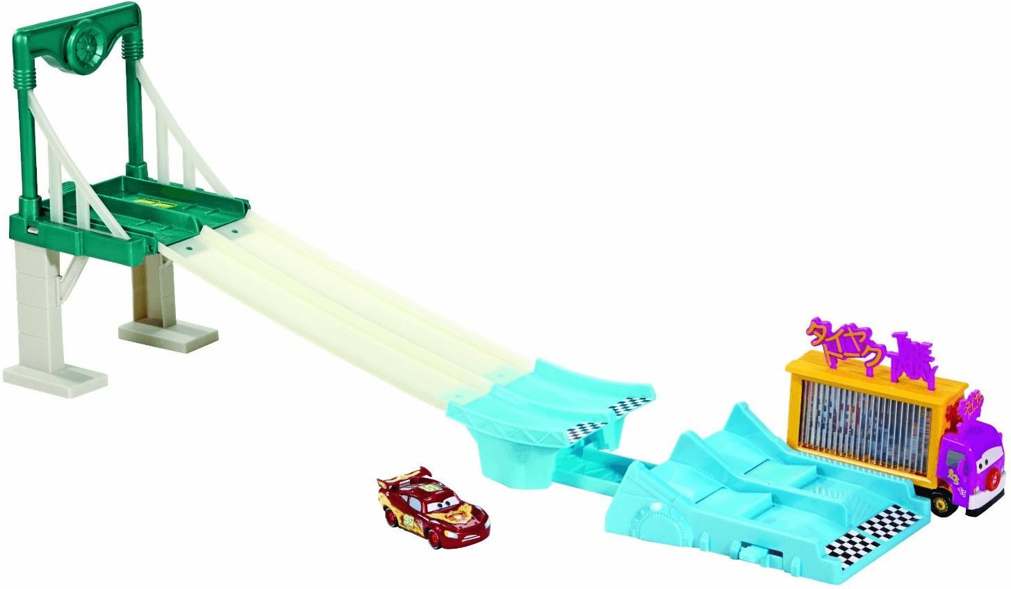 Mattel Cars Neon Racers Trackset