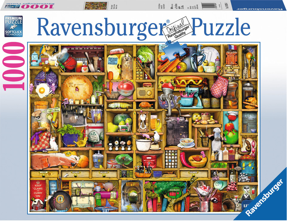 Ravensburger Armario de cocina (1000 piezas)